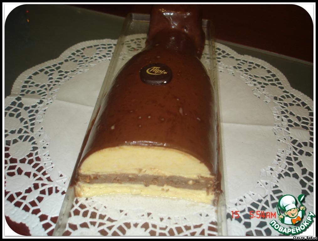 Шоколадный десерт от джинна