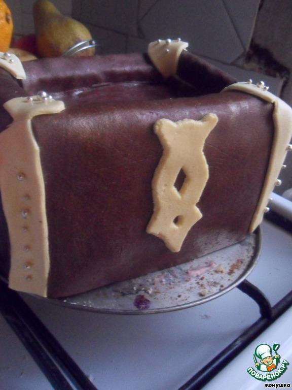 """Торт """"Сундучок пирата Джо-Джо"""""""