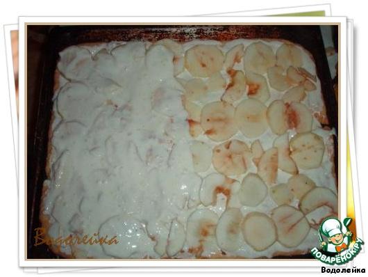 Торт яблочно-лимонный