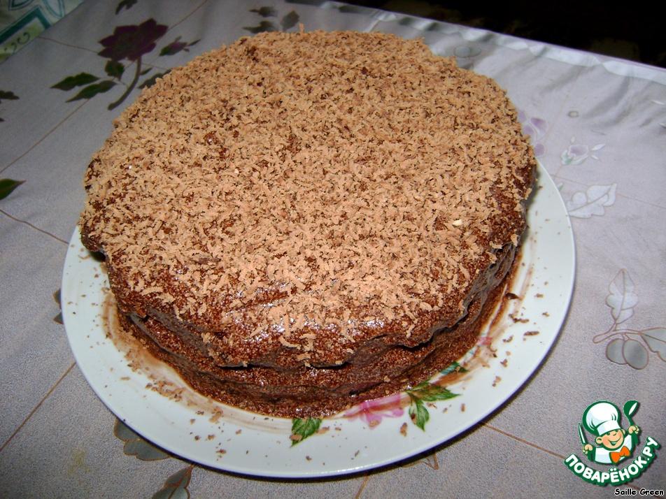 """Торт """"На мамин день рождения"""""""