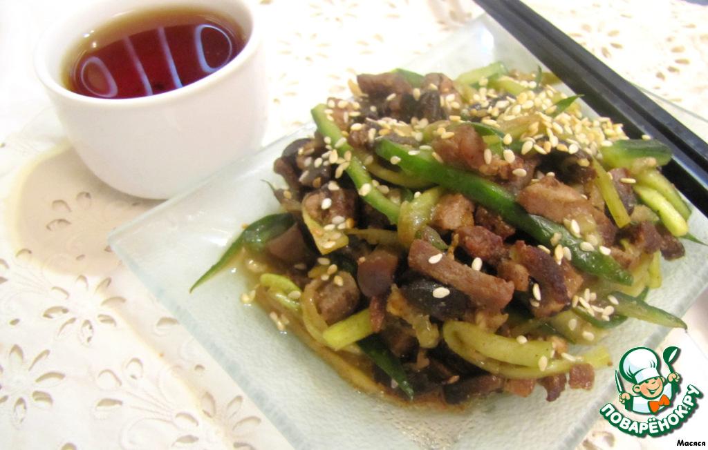 Салат со свининой китайский в 2019 году