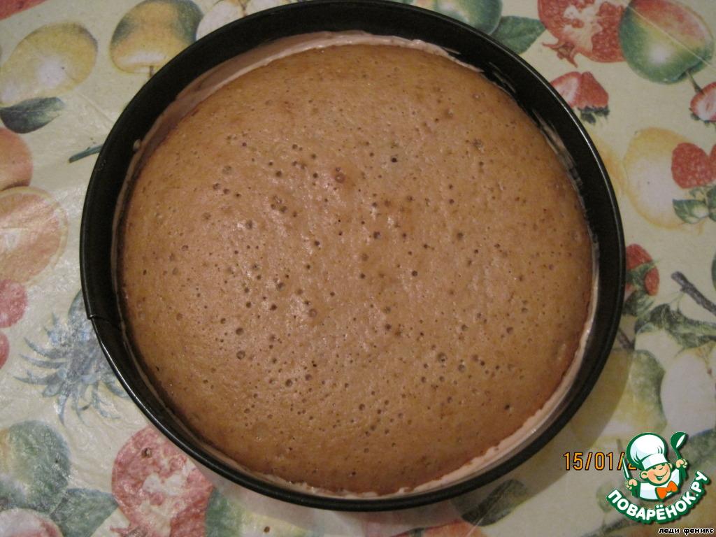 Торт-мусс шоколадный