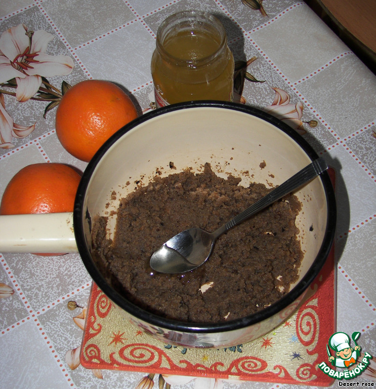 Десерт «Черная тайна»