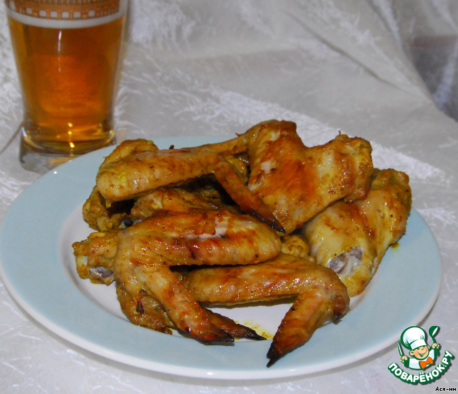 рецепт крыльев к пиву