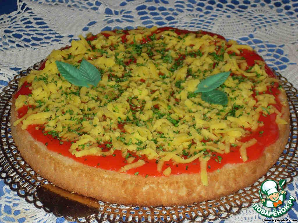 """Торт """"Пицца"""" на День Рождения"""
