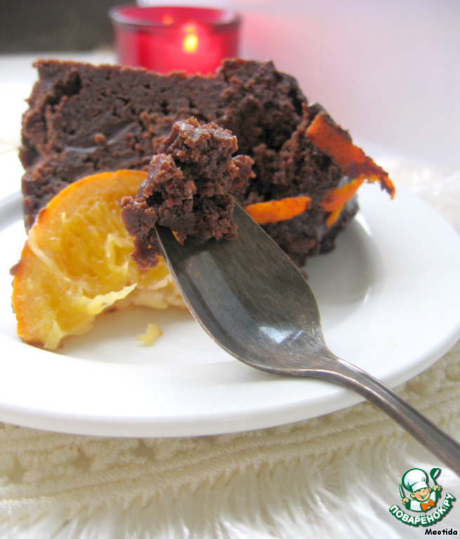 Шоколадный пудинг с ЦЕЛЫМ апельсином