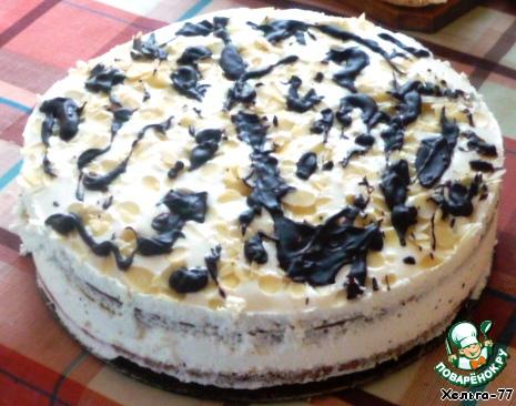 Торт Сливочное удовольствие