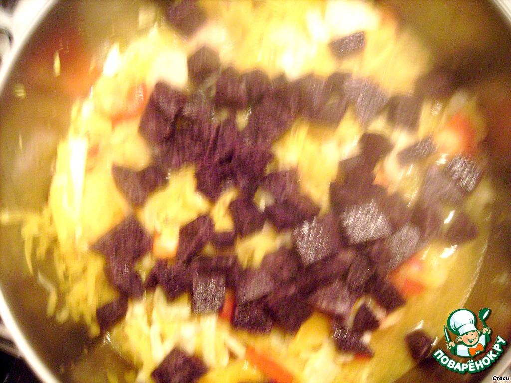 Борщ рецепт картошка