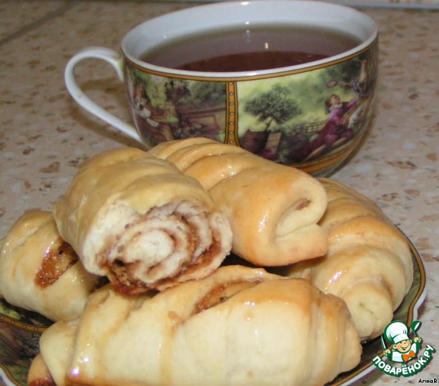 булочки с медом рецепт с фото