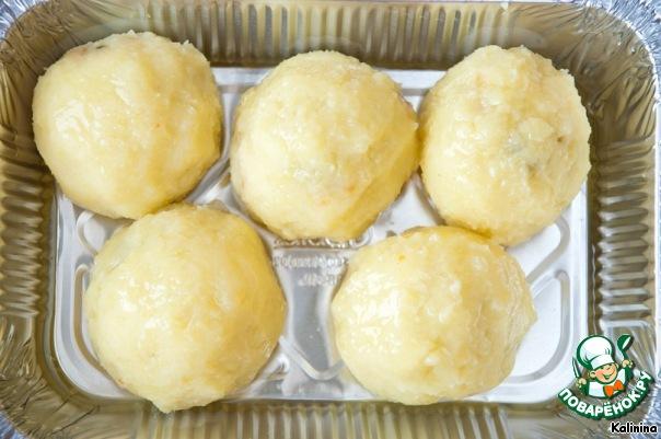 картофельные зразы с грибами рецепт с фото в духовке