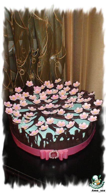 Торт Вишнeвый сад