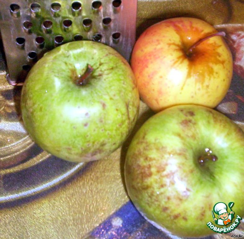 Яблочный пудинг на киселе