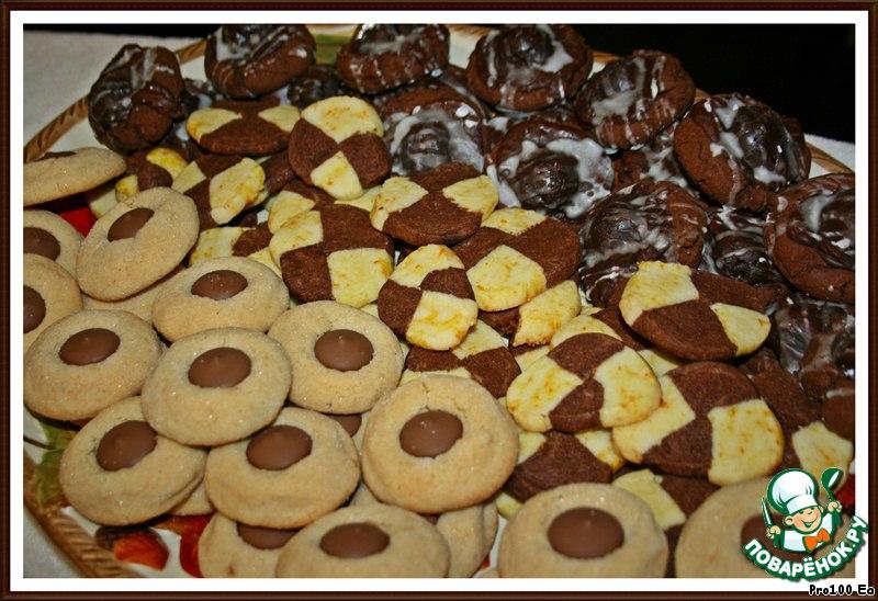 Печенье Апельсиново-шоколадное