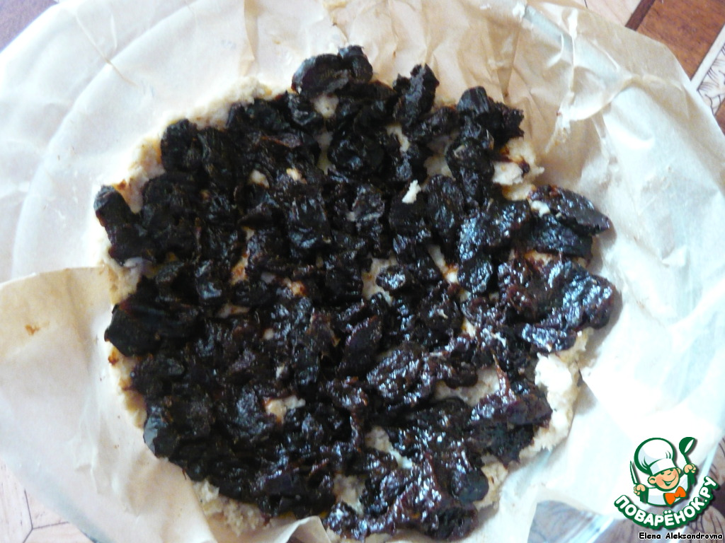 Пирожные с черносливом