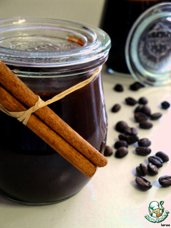Кофейно-шоколадное желе