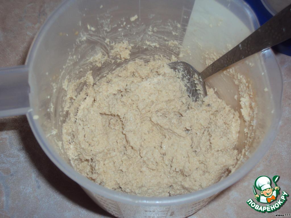 Кокосовое печенье со вкусом капуччино