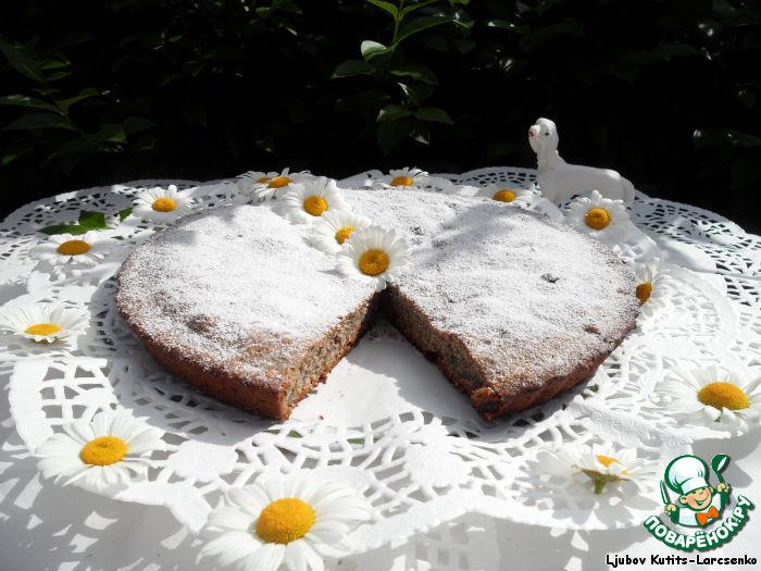 Пирожное  орехово-маковое по-венгерски Dios-makos kremes sutemeny