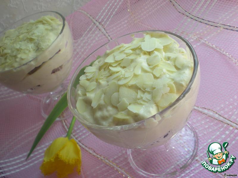 Десерт чайный с финиками