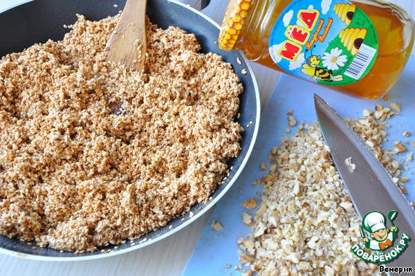 """Арабское печенье с медом и кунжутом """"Баразек"""""""