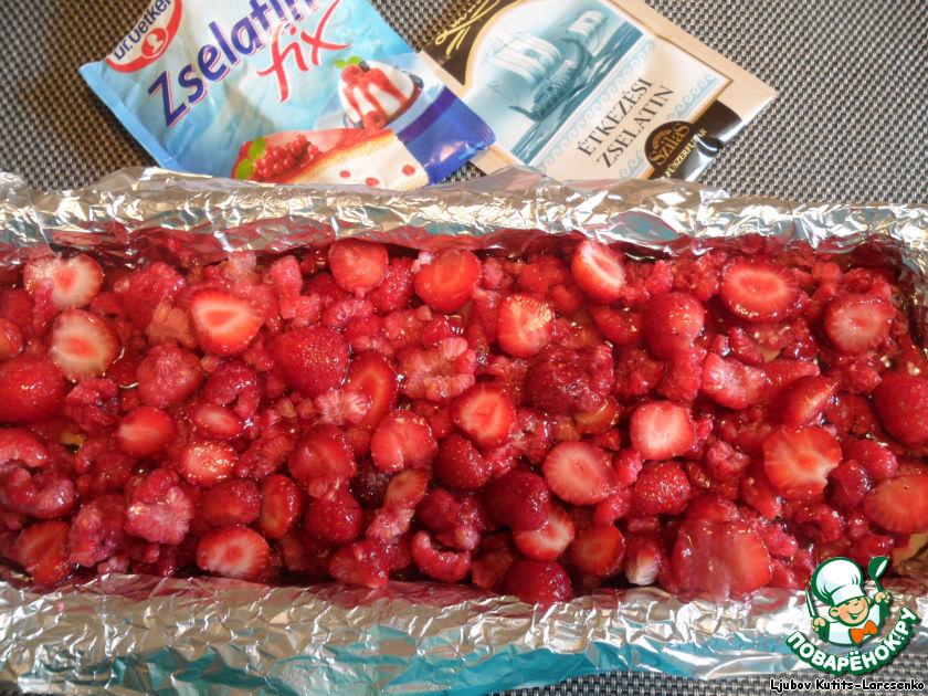 Ягодно-фруктовый десерт