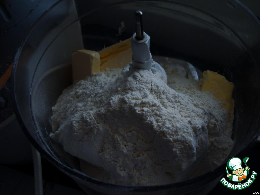 Творожный тортик с нежным творожно-ежевичным кремом
