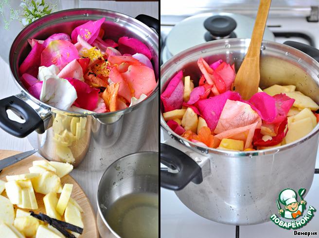 Сорбетто из лепестков роз (Sorbetto ai petali di rosa)