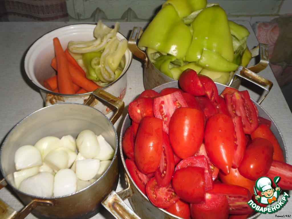Болгарское лечо рецепт поваренок