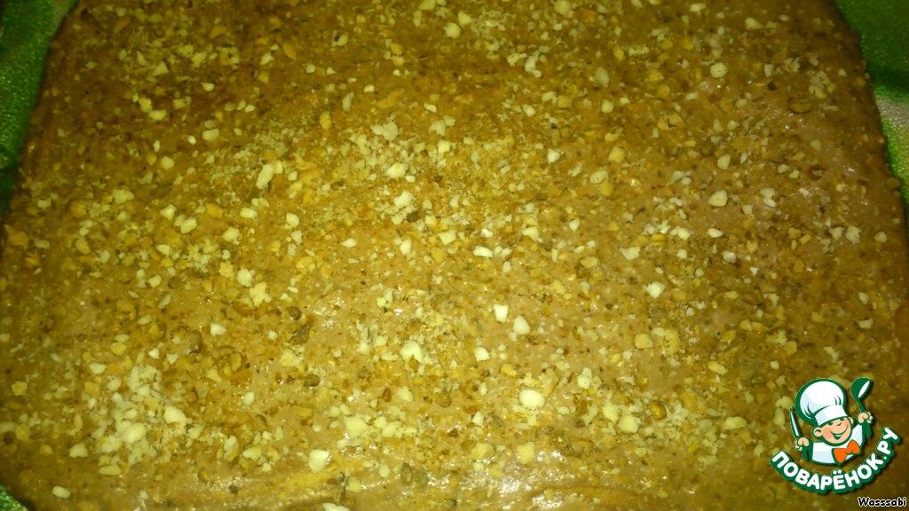 Медово-ореховые пирожные Шоколадная сметанка