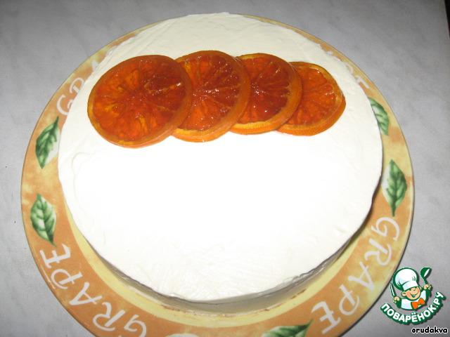 Апельсиново-шоколадный торт Приглашение на чай