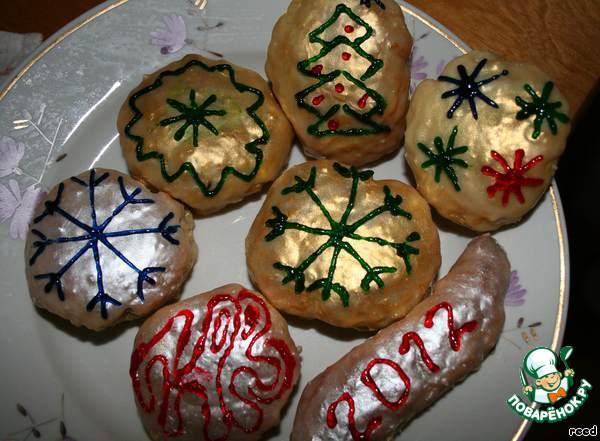 Печенье Новогодние игрушки