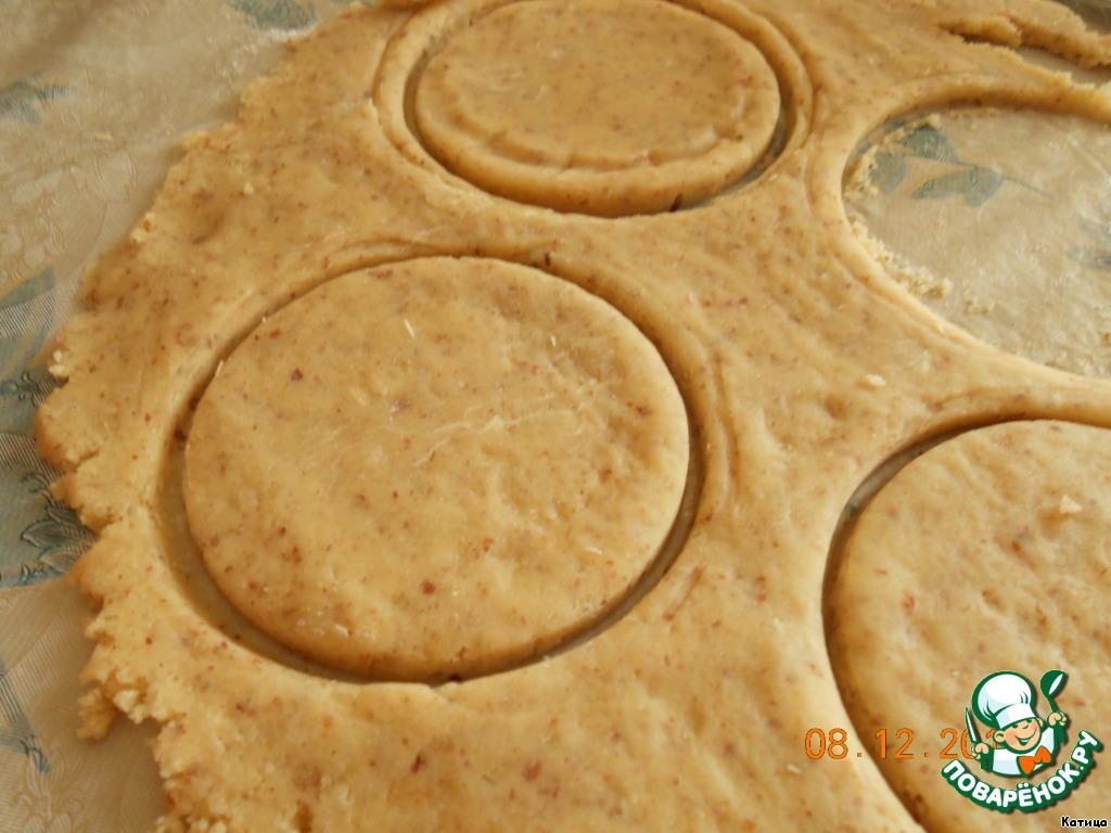 Печенье с зефиром Снег кружится
