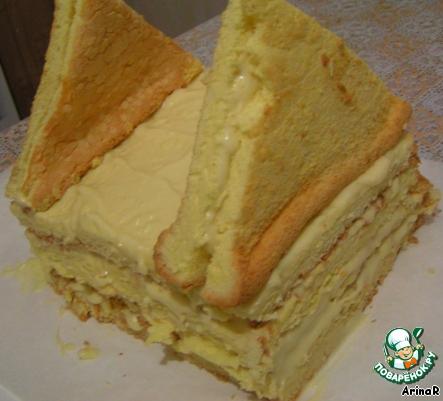 Торт Избушка для зимы