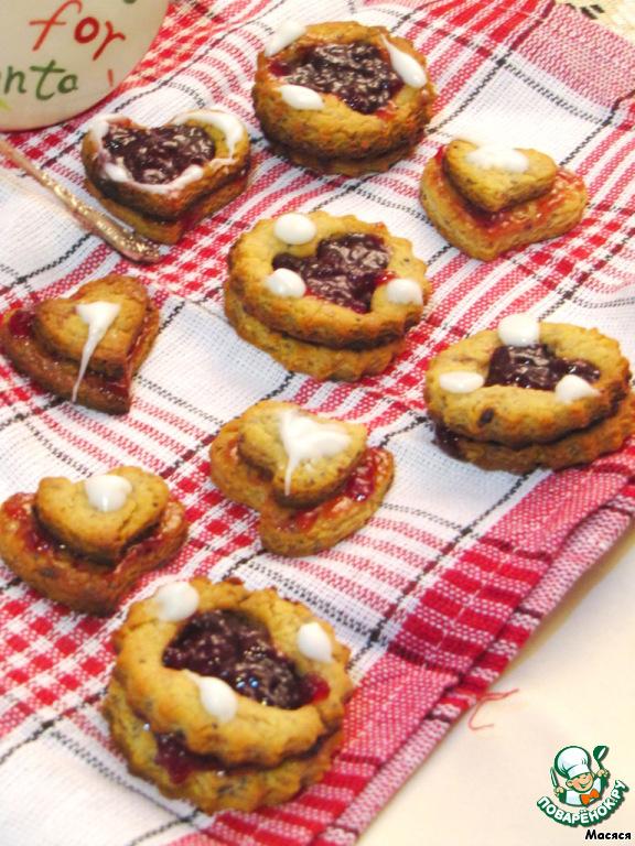 Орехово-медовое печенье Предновогоднее