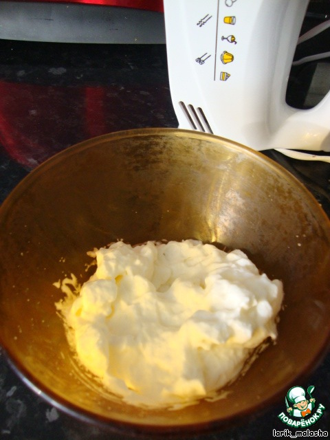 Десерт Рис с молоком и апельсином