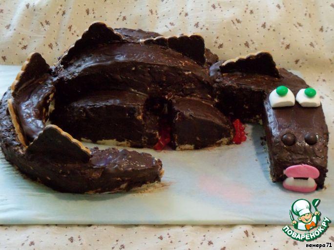 Торт Черный дракон