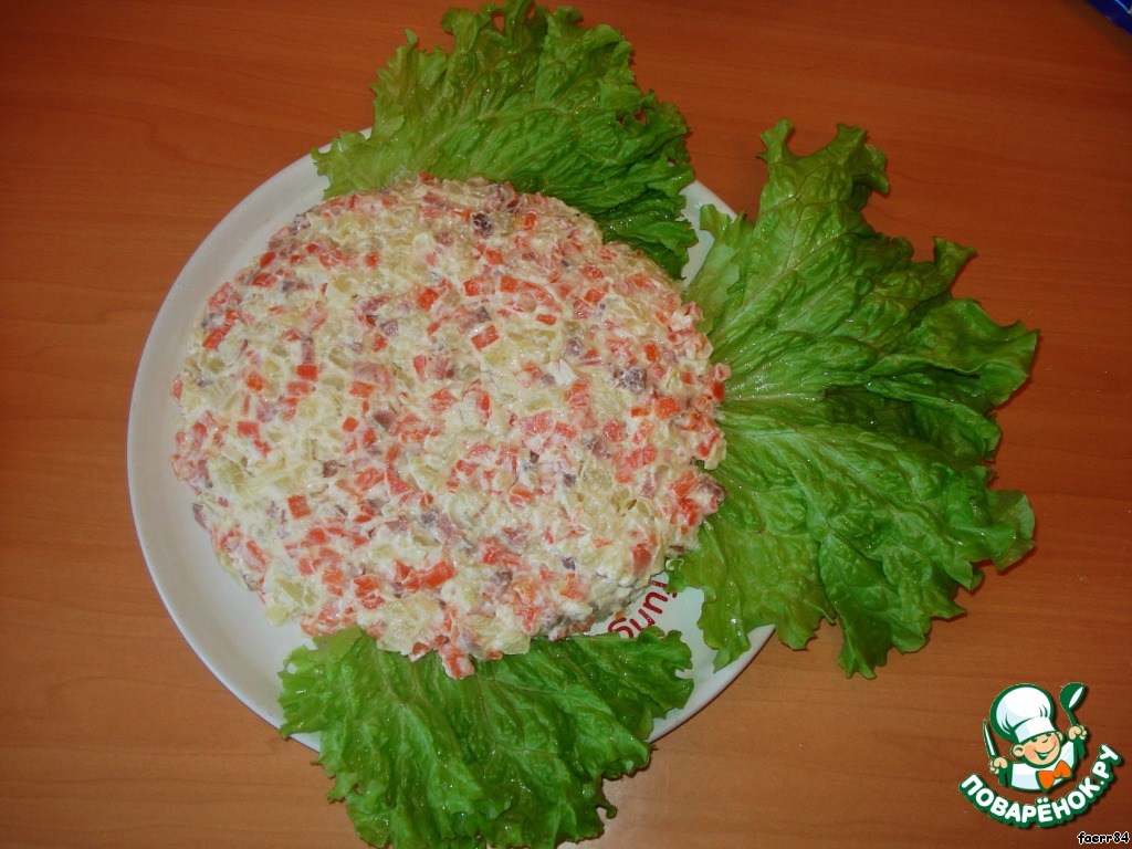 Салат золотая рыбка рецепт пошагово в 32