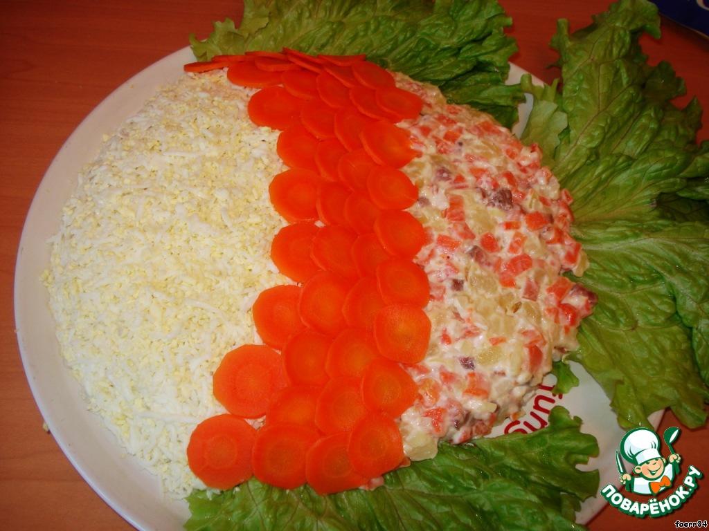 Салат золотая рыбка рецепт пошагово в 52