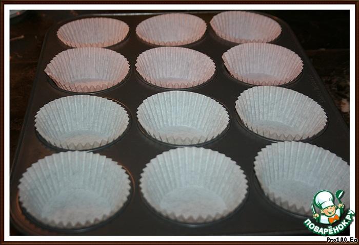 Миниатюрные чизкейки с белым шоколадом