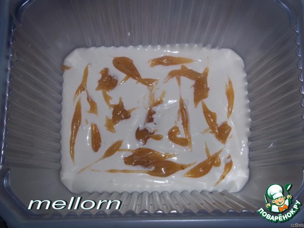 Мороженое с карамелью-ириской