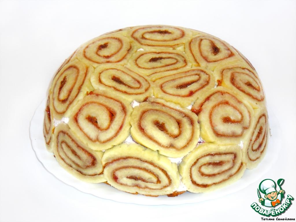 Торт Купол с вишней