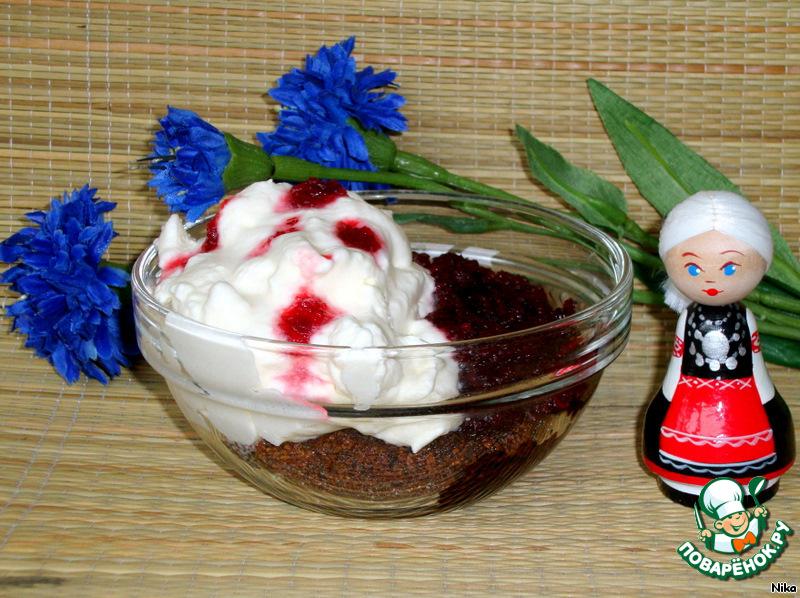 Десерт  Сладкая   крестьянка