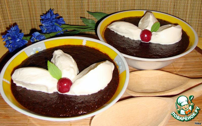 Десерт Хлебный суп