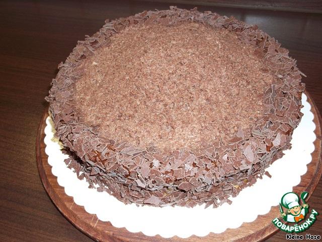 Торт  Шоколадная  пена