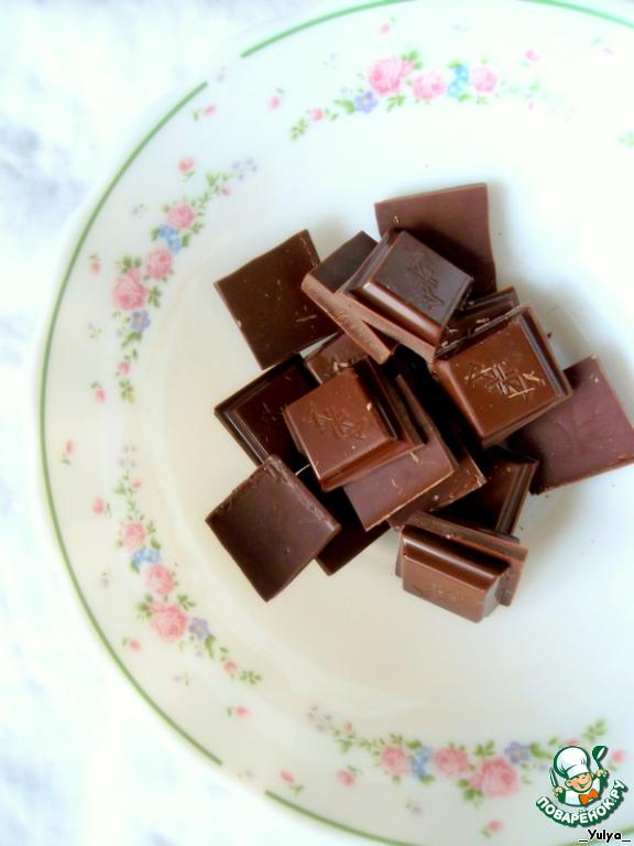 Шоколадный мусс с кофе