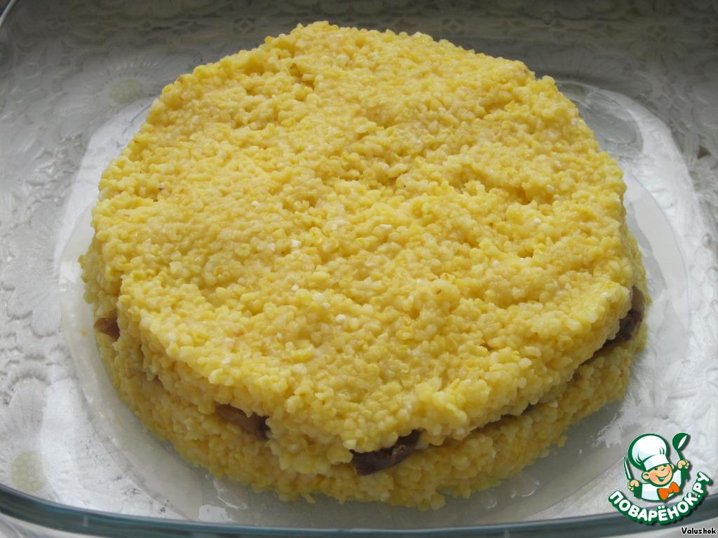 рецепты запеканка из кукурузной крупы