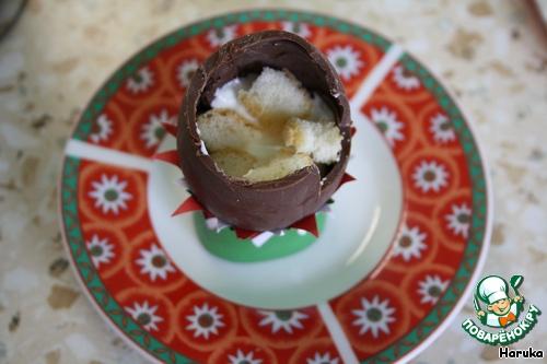 Пасхальные шоколадные яйца с Тирамису