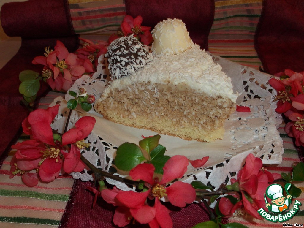 "Кокосовый торт ""Коко Кабана"""