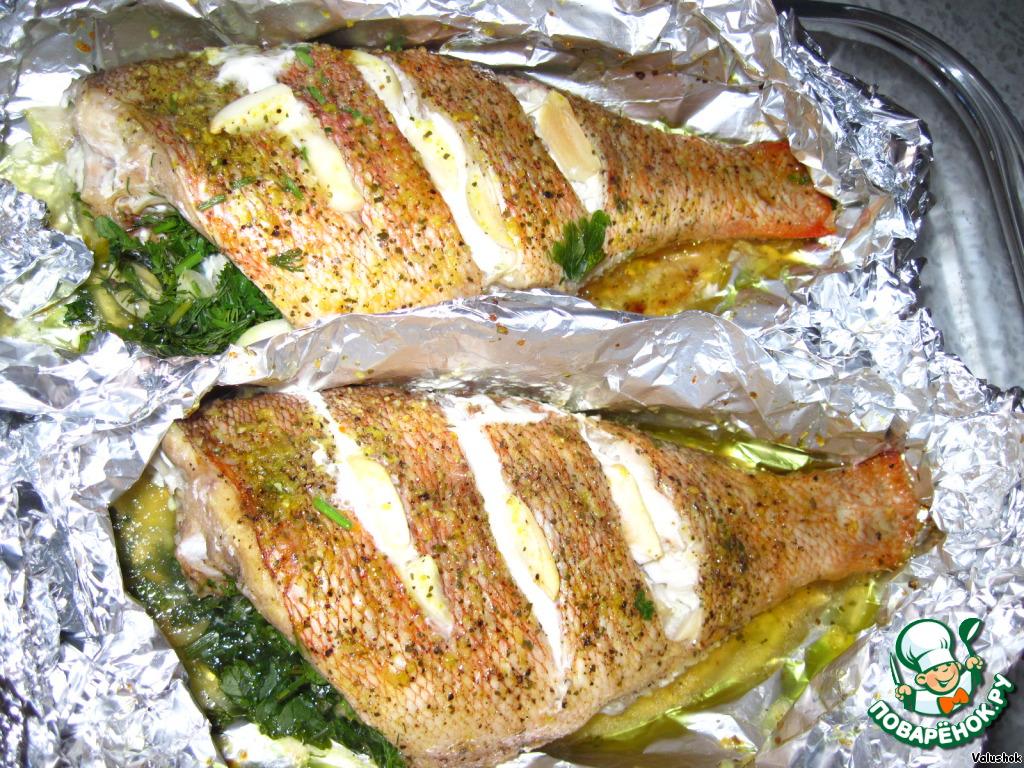 рыба морской окунь рецепты