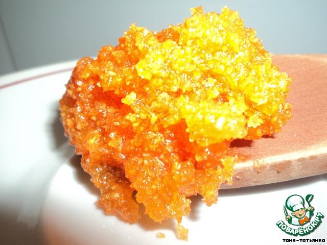 Конфеты «Морковка»