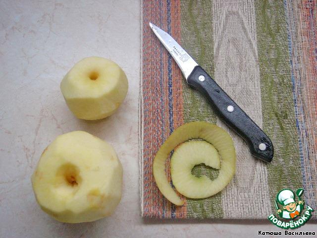 """Яблочный крамбль """"с изюминкой"""""""